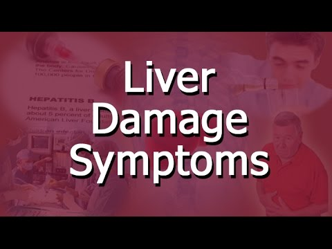 Video Liver Damage Symptoms