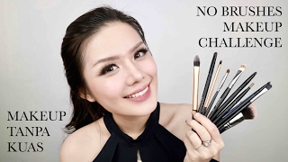 Full Face Using Only My Fingers (No Makeup Brushes) Challenge | Christine Sindoko