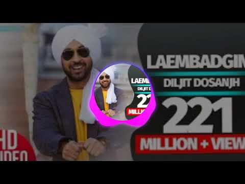 Laembadgini (Full trouble  Song) | Diljit Dosanjh | Latest Punjabi Songs  | Speed Records