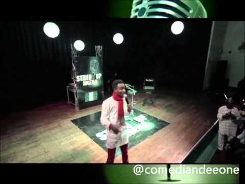 Stand Up Nigeria - DEE-ONE thrills Audience