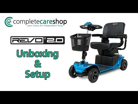 How To Assemble Your Pride Revo 2.0 Mobility Scooter