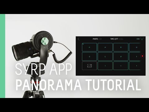 Syrp Tutorial - How to shoot single and multi-row panorama