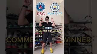 PSG OR MAN CITY ? #shorts #ucl #championsleague #psg #mancity #psgcity #messi #neymar #mbappe