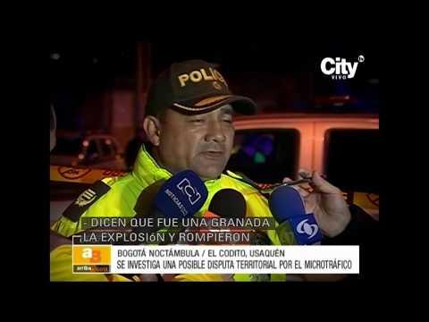 Cinco heridos tras explosión de una granada en Usaquén I CityTv