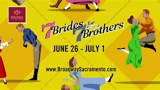 SEVEN BRIDES FOR SEVEN BROTHERS: June 26 - July 1 at the Wells Fargo Pavilion