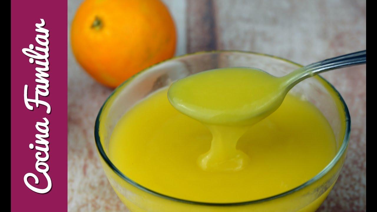 Como hacer salsa de naranja | Javier Romero