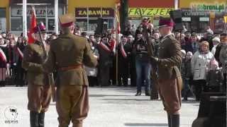 preview picture of video 'Święto 7 Pułku Ułanów Lubelskich - Mińsk Mazowiecki (07.04.2013)'