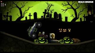 Машинка #хэллоуин #монстр-трак #мультик / #Toycar # Halloween # monster-truck #cartoonmarch 7