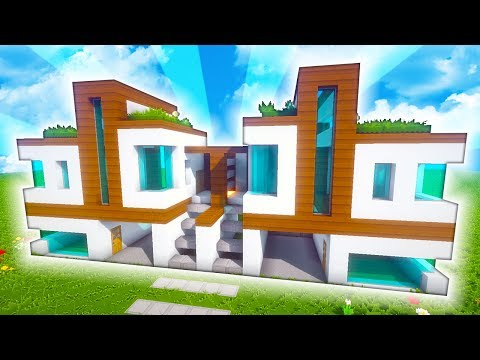 DOUBLE MODERN HOUSE WITH GARAGE