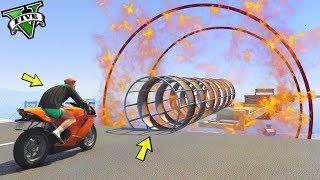 GTA 5 ONLINE 🐷 TRIAL ESTREMO IN MOTO !!!🐷 GARE PARKOUR 🐷N*216🐷 GTA 5 ITA 🐷 DAJE !!!
