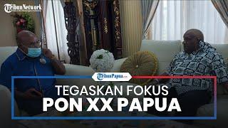Bertemu Mendagri, Gubernur Lukas Enembe Tegaskan Fokus PON XX Papua: Harus Sukses