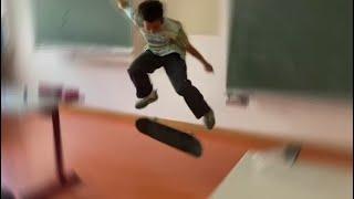 In der SCHULE skaten...