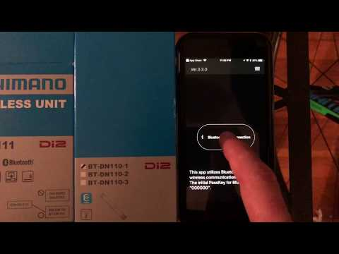 Garmin Edge remote controle with a DI2 Shifter
