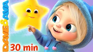 🌟 Twinkle Twinkle Little Star and More Nursery Rhymes by Dave and Ava 🌟