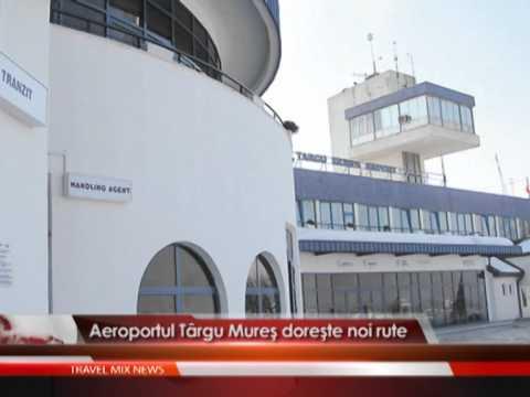 Aeroportul Targu Mures doreste noi rute