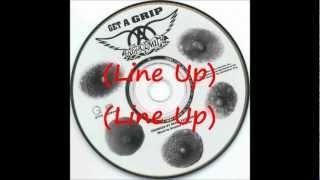 Line Up - Aerosmith (Lyrics)
