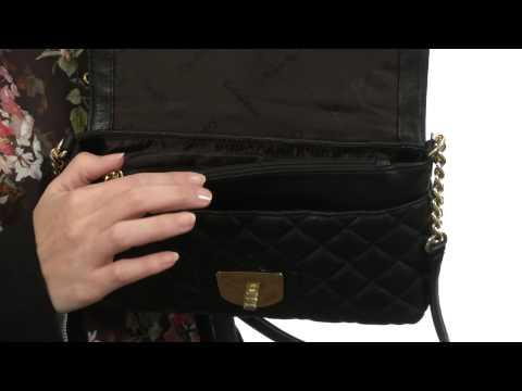 Calvin Klein – Quilted Lamb Leather Shoulder Bag SKU:8445518