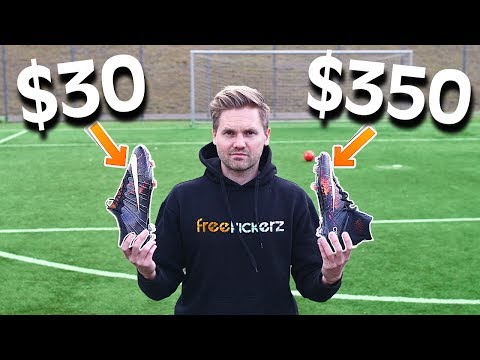 $30 vs $350 Nike Football Boots – Test & Comparison