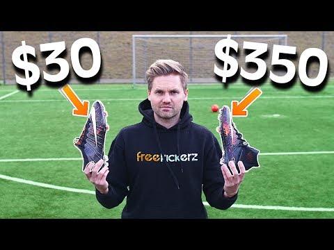 $30 vs $350 Nike Football Boots - Test & Comparison