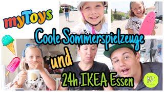 Coole SOMMERSPIELZEUGE | Waveboard, Pennyboard | 24h nur IKEA Essen| Kleine Familienwelt