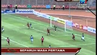 Sea Games 26th Jakarta (Football) - Malaysia Vs Cambodia