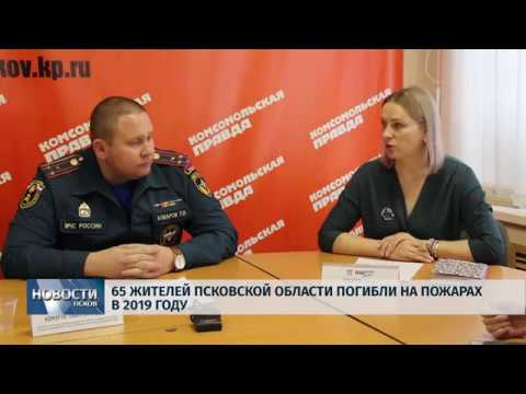 Новости Псков 29.11.2019 / 65 жителей Псковской области погибли на пожарах в 2019 году