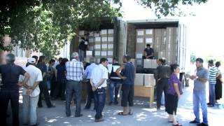 ARCS humanitarian aid for affected by hail communities in Armavir - Armenian version