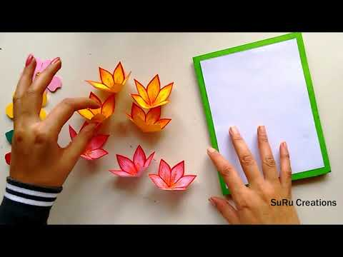 very attractive handmade pop up card new year greeting card design 2019