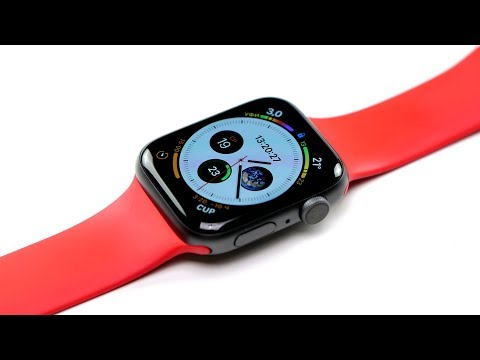 Обзор Apple Watch Series 4 GPS 40mm (Gold Aluminum Case with Pink Sand Sport Loop, MU692RU/A)