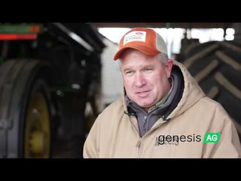 Kevin Matthews No-Till Farmer North Carolina Corn Harvest  - Genesis Ag