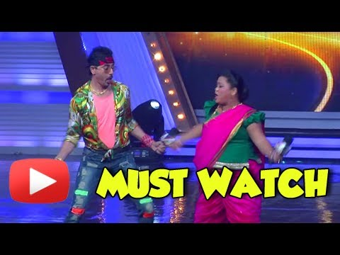 Bharti Singh And Mantra Funny Act In India's Got Talent 5 - MUST WATCH