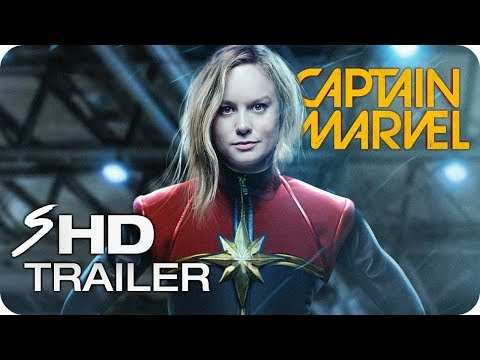CAPTAIN MARVEL (2019) First Look Trailer - Brie Larson Marvel Movie