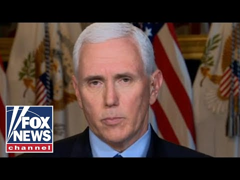EXCLUSIVE: Vice President Mike Pence goes one-on-one with Jesse Watters
