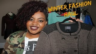 HUGE Budget Friendly Plus Size Fashion Haul   Winter 2015   Forever 21, Rainbow, Deb, And MORE