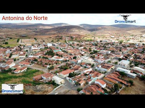 Antonina do Norte vista aerea