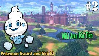 Vanillite  - (Pokémon) - Pokémon Sword and Shield #2 - Tiến Tới Khu Hoang Dã Rolling Fields Bắt Vanillite