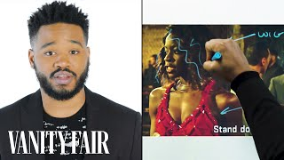 Black Panther's Director Ryan Coogler Breaks Down a Fight Scene | Notes on a Scene | Vanity Fair - Video Youtube