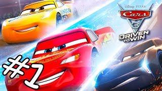 CARS 3 Evolution Lightning McQueen Deutsch Cartoon Zeichentrick Autorennen Spiele Kindervideos #1