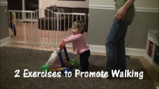 Exercises to Help Baby Walk