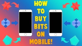 HOW TO BUY AND CHEER BITS ON MOBILE! Twitch Bits