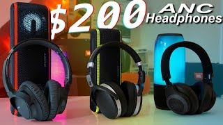 Top $200 Headphones Showdown - Sony WH-CH700N vs Sennheiser 4.50BTNC vs JBL E65BTNC
