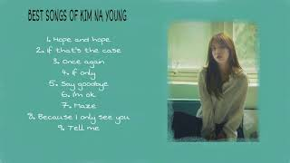 Best Songs Of Kim Na Young (김나영)