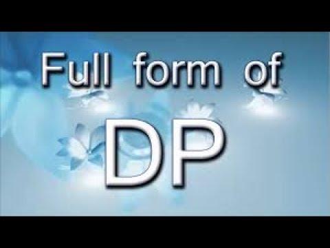 whatsapp में dp का अर्थ क्या होता है ?