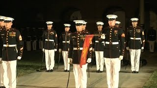 Marine Corps Evening Parade - 2012