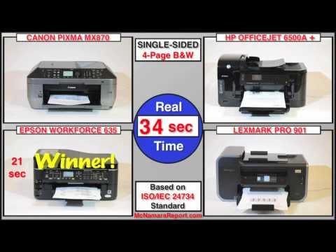 4 Top printers exclusive comparison