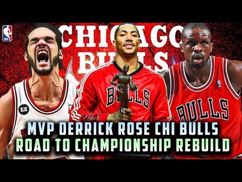 MVP DERRICK ROSE RETURNS! 2011 CHICAGO BULLS ROAD TO CHAMPIONSHIP! NBA 2K19 REBUILD