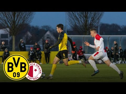 Re-Live: U19 erreicht nächste Runde   BVB U19 - Slavia Prag U19 5:1   UEFA Youth League