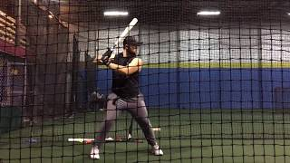 Develop Bat Speed and Power with this 1 lb Weighted Ball Screen Toss Drill