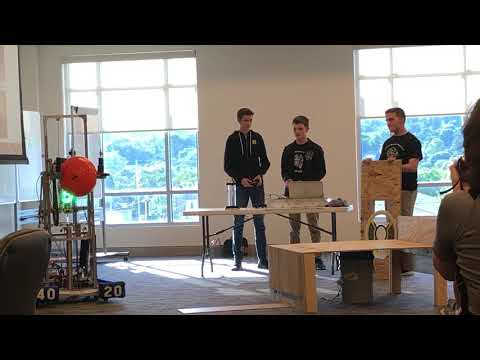 Video: Dobyns-Bennett students demonstrate Cyber Tribe robot