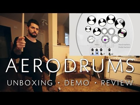 AERODRUMS – Unboxing, Review, and Demo w/ The Orlando Drummer